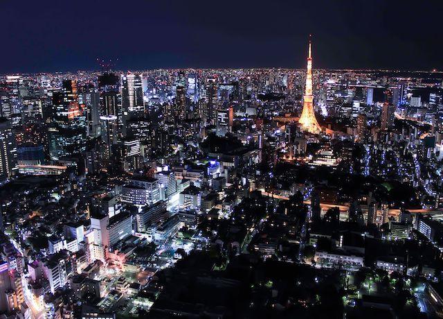 東京の夜景をヘリで眺むナイトクルージングを20%OFF!